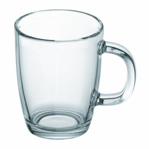 Bodum Bistro Glass Coffee Mug 035-Liter 12-Ounce