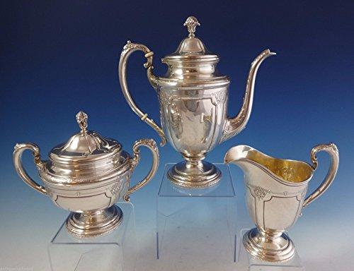 Louis XIV by Towle Sterling Silver Tea Set 3pc 76160 1010