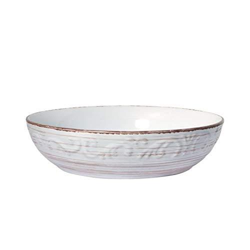 Pfaltzgraff Trellis White Individual Pasta Bowl
