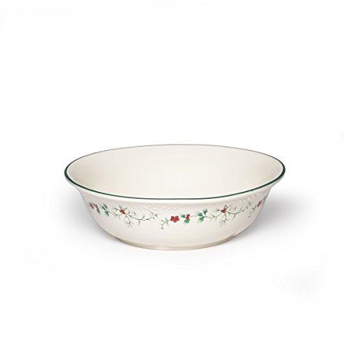 Pfaltzgraff Winterberry Round Serve Bowl Stoneware Gift Box 10 Assorted
