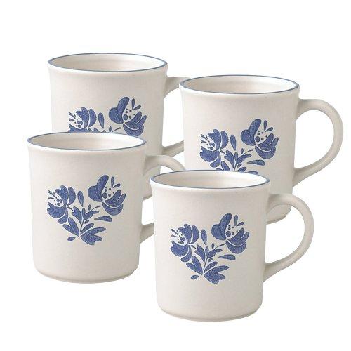 Pfaltzgraff Yorktowne Perfect Coffee Mug 13-Ounce Set of 4