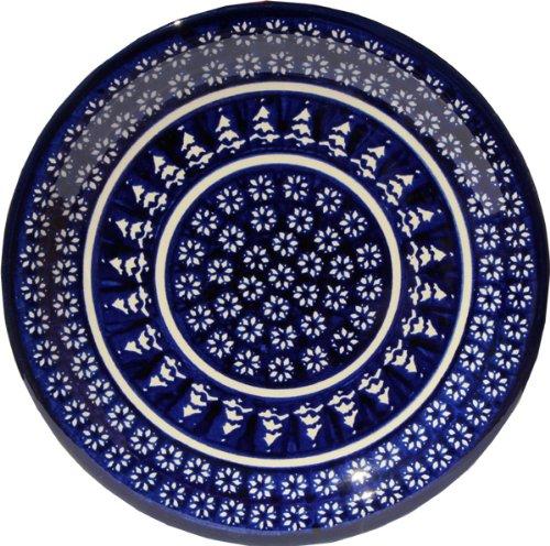 Polish Pottery Dinner Plate 1075 Inch From Zaklady Ceramiczne Boleslawiec 1014-243a Signature Pattern Diameter 1075
