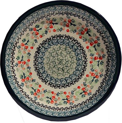 Polish Pottery Dinner Plate 1075 Inch From Zaklady Ceramiczne Boleslawiec 1014-du158 Unikat Pattern Diameter 1075