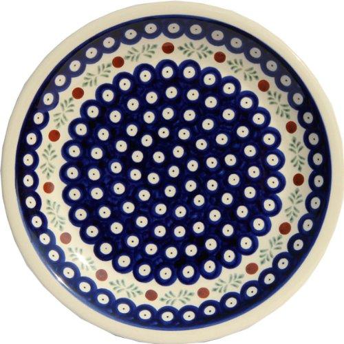Polish Pottery Dinner Plate 95 Zaklady Ceramiczne Boleslawiec 1001-242