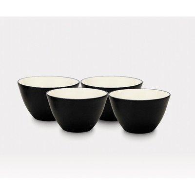 Noritake 4-Inch Colorwave Bowl Graphite Set of 4