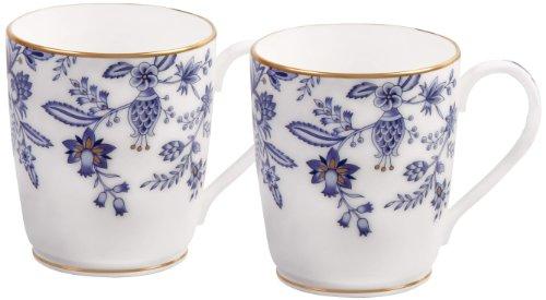 Noritake Sorrentino Mug Blue Set of 2