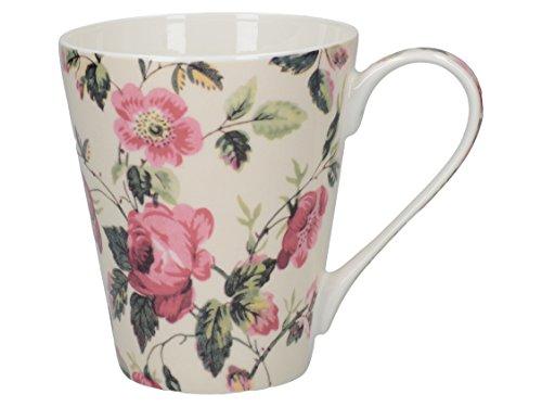 V&A Dog Rose Fine Bone China Mug In Gift Box