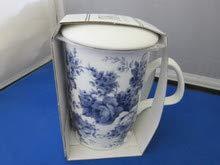 Roy Kirkham Blue Chintz Fine English Bone China Tea Infuser