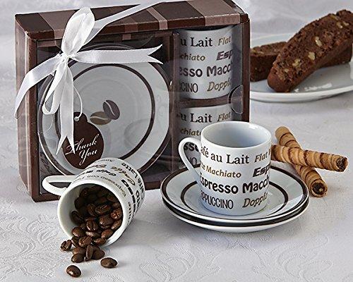 Artisano Designs Euro Cafe Espresso Coffee Cup Set