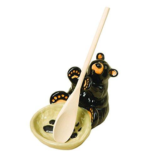 Demdaco 30150060 Big Sky Carvers Bear Spoon Holder Multicolored
