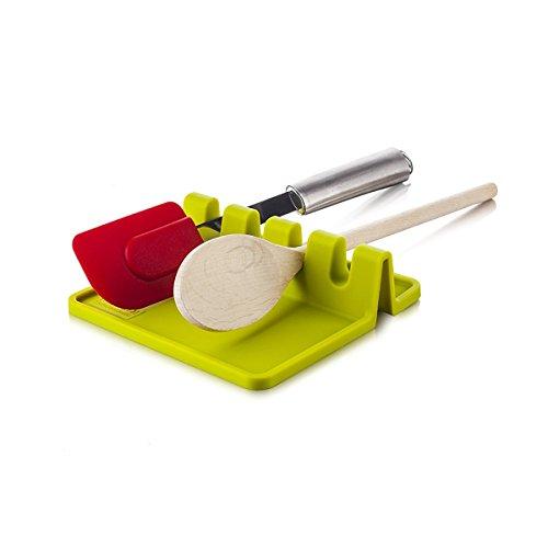 Kitchen Utensil Rest Spoon Rest Ladle Spoon holderGreen