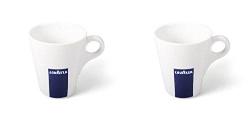 2 X Lavazza CoffeeCappuccinoLatte Mugs-Capacity 10oz