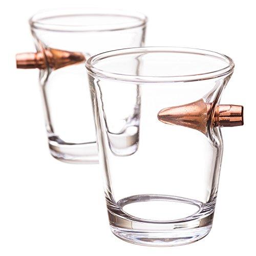 308 Real Bullet Shot Glass- Set of 2