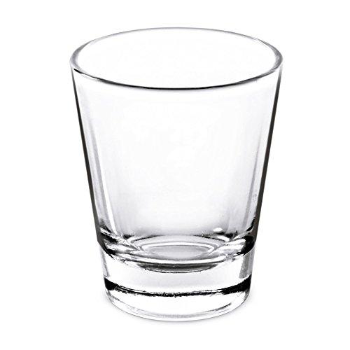 15 Oz Whiskey Shot Glass Set of 4 Shot Glasses