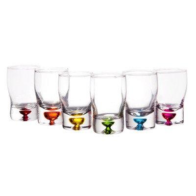 25 oz Bubble Whiskey Shot Glass set of 6
