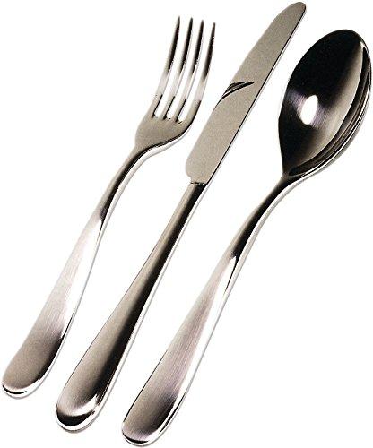 Alessi 5180S24 Nuovo Milano24 Piece Cutlery Set Silver