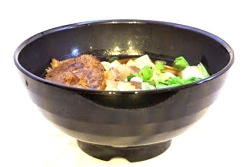 Lucky Star Melamine Round Bowls Set Ramen Vietnam Pho Noodles Soup Bowls 6-12 23 oz or 7-12 38 oz Black 24 7-12 38 oz
