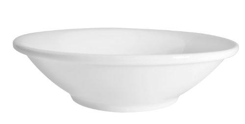 CAC China MAJ-11 5-12-Inch Majesty Bone China Fruit Bowl 5-Ounce Box of 36