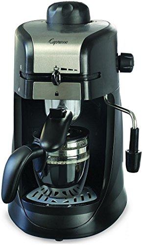 Capresso 30301 4-Cup Espresso and Cappuccino Machine Chrome