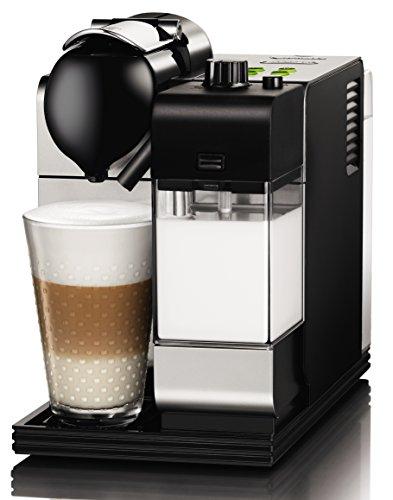 DeLonghi Lattissima Nespresso Silver Capsule Espresso and Cappuccino Machine