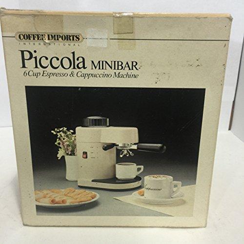 PICCOLA MINIBAR 6 Cups Espresso Cappuccino Machine