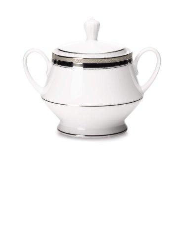 Noritake Austin Platinum Sugar Bowl with Cover