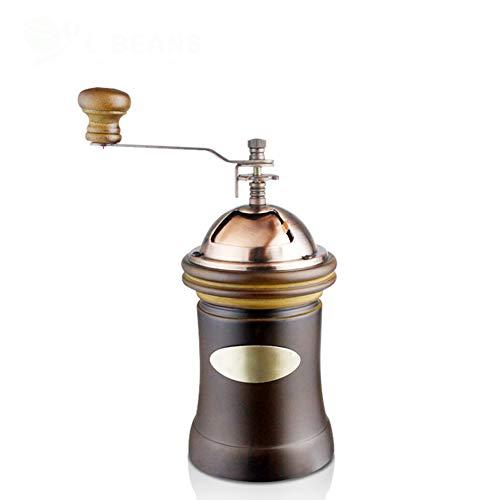 KXDAR Manual Coffee GrinderPremium Adjustable Ceramic Burr GrinderPortable Hand Coffee Grinder for Travel or Camping