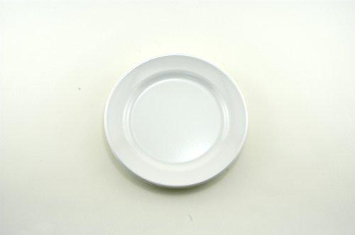 Galleyware White Melamine Non-Skid SaladDessert Plates Set Of 6