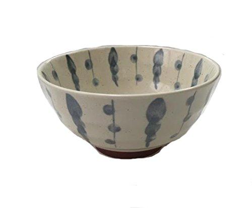 675 Inch Donburi Bowl Blue White