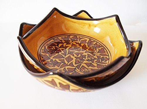 Guddé Set of 2 Handmade Ceramic Bowls Beige