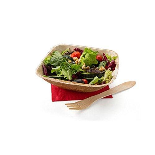 65 Inch Square Leaf Bowls 50 Bowls - Leafware