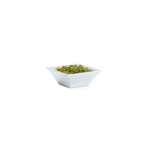 GET ML-246-W Siciliano 16 Quart White Square Bowl - 6  CS
