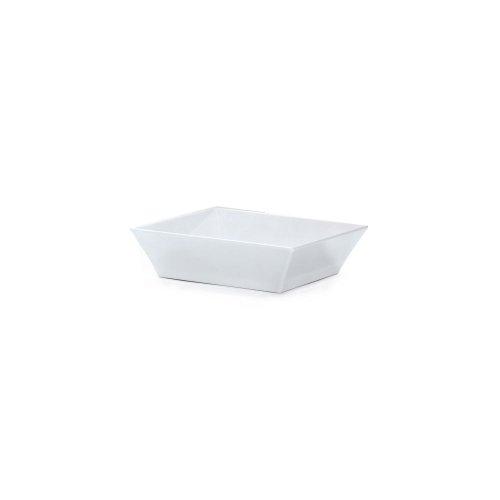 GET ML-248-W Siciliano 57 Quart White Square Bowl - 3  CS
