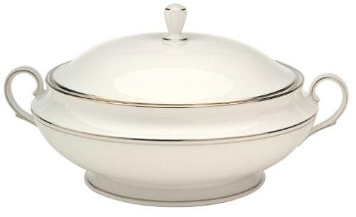 Lenox Federal Platinum Bone China Covered Vegetable Bowl