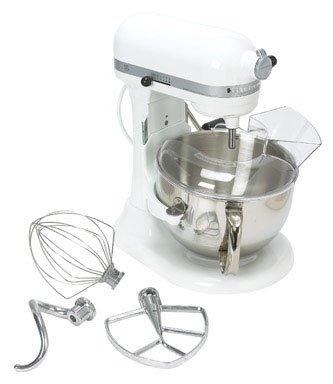 KitchenAid Professional 600 Series KP26M1XER Bowl-Lift Stand Mixer 6 Quart Meringue