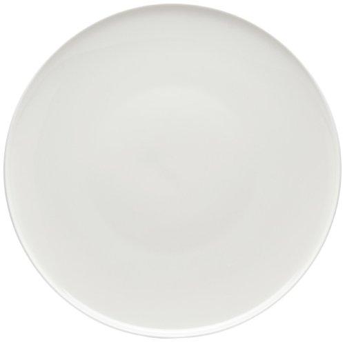 Red Vanilla Everytime White Coupe Round Platter