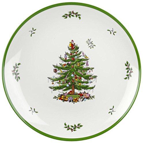 Spode Christmas Tree Melamine Round Platter