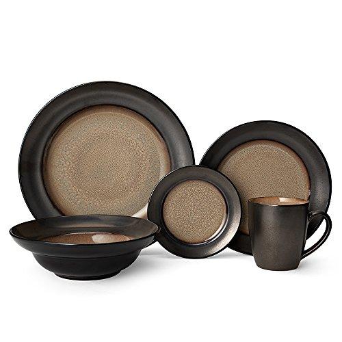 Gourmet Basics Sandstone 20 Piece Dinnerware Service for 4