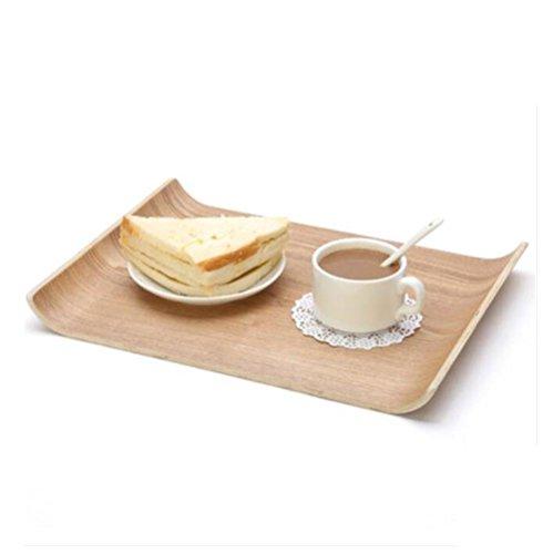 W&P Rectangular wooden tray European large fruit tray care dessert bread tableware