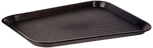 Winco FFT-1418K Fast Food Tray 14-Inch by 18-Inch Black