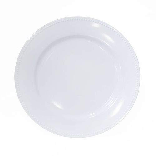 OKSLO Plastic dinner plate set of 6