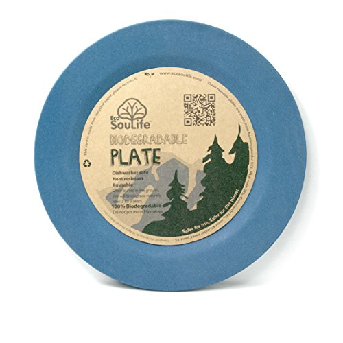 EcoSouLife Biodegradable Camping Side Plates