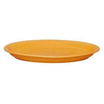 Fiesta Dinnerware Large Oval Platter Tangerine