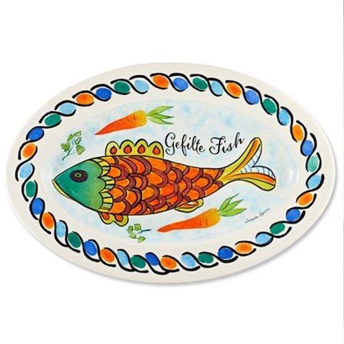 Ceramic Gefilte Fish Platter