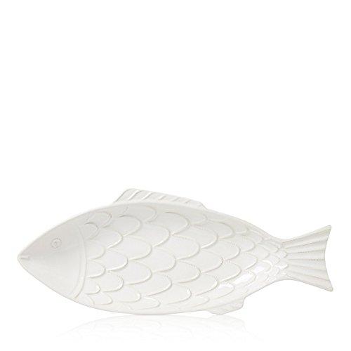 Juliska Berry Thread Whitewash Fish Platter