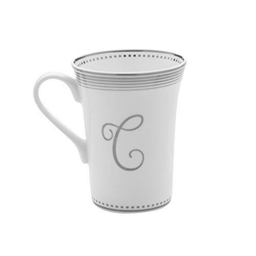 Mikasa Bone China Coffee Mug 16-Ounce Monogram C