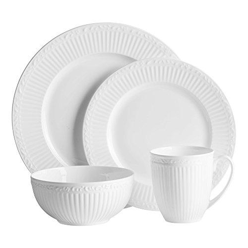 Mikasa Italian Countryside Bone China 16 Piece Dinnerware Set Service for 4