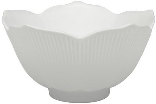 BIA Cordon Bleu White Porcelain 6-Ounce Lotus Bowls Set of 6