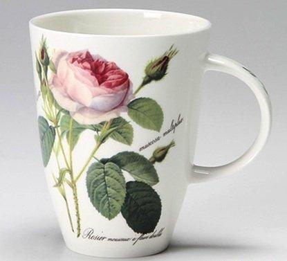Roy Kirkham Fine Bone China Floral  Redoute Roses  Louise Style Mug