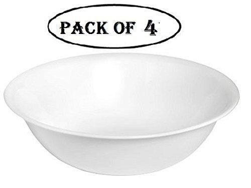 Corelle Livingware 1-quart Serving Bowl Winter Frost White Pack of 4